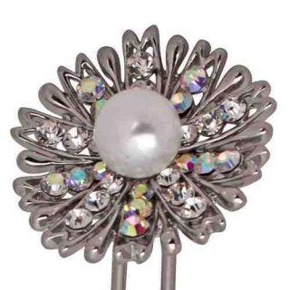 Kirks Folly Pearl Whimsy Chignon Hair Pin RRP £19.97