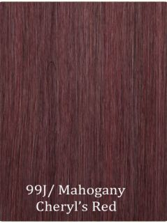 red wine human hair extensions in Womens Hair Extensions