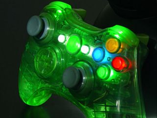 XCM Wireless Controller Shell *Halo Green* for XBox 360