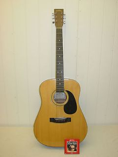 SIGMA DM 1 ACOUSTIC GUITAR w/ MARTIN STRINGS D 18 C F Martin & Co.