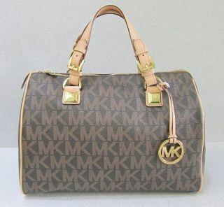 michael kors handbag grayson brown in Handbags & Purses