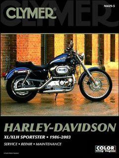 Harley Davidson Sportster XL XLH 883 1200 CLYMER MANUAL