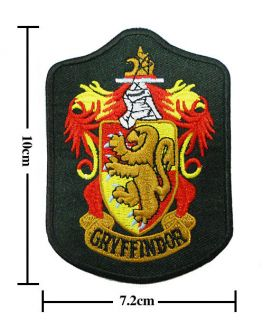 Harry Potter Crest Iron Gryffindor Patch Badge (B 2) L1_S