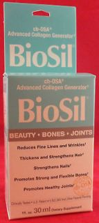 Natural Factors Biosil Hair Skin Nail 1 Oz 30 ml Liquid Collagen