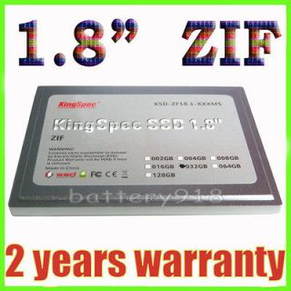 32GB Laptop/Netbook SSD HDD hard drive 1.8 ZIF for OQO umpc Brand NEW
