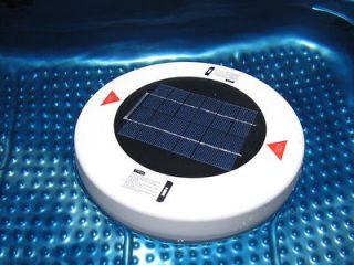 Solar Powered   Swimming Pool Cleaner, Ioniser, Salt & Chlorine Free