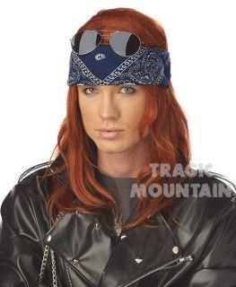Heavy Metal AXL ROSE GLAM Guns N Roses WIG Costume