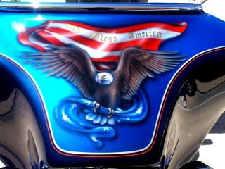 CUSTOM PAINT JOB On Your Motorcycle Tins