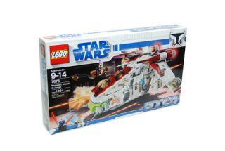 Lego Star Wars   Republic Attack Gunship Set #7676 NEW SEALED MISB