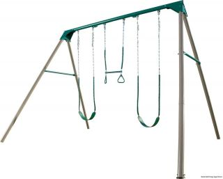 Keter Elephant Trio Rocker Kids Play Swings Swingset Outdoor Garden