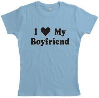 Love My Boyfriend WOMENS Romance T shirt ALL Sizes
