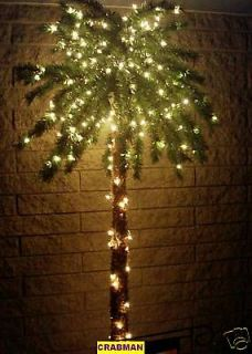palm tree christmas tree in Home & Garden