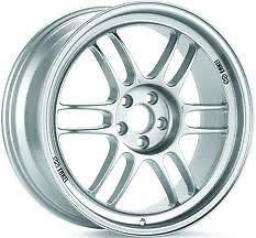 ENKEI RPF1 RIMS SILVER 17x7.5 5x100 +48    SET OF 4 WHEELS
