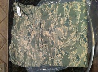 US AIR FORCE MILITARY ABU TIGER STRIPE GORETEX PANTS TROUSERS LARGE