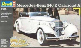 24 Mercedes Benz 540 K Cabriolet A Plastic Model Kit RVL07100