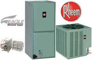 Ton Rheem 15 SEER Air Conditioner Split System R410a