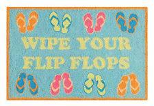 Hooked Rug, Wipe Your Flip Flops ,44320781