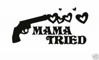 NEW Custom Screen Printed TShirt Mama Tried Miranda Lambert S 3XL Free