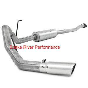 MBRP EXHAUST 2009 2011 FORD F150 4.6L 5.4L CAT BACK SINGLE ALUMINIZED