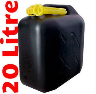 10 L LITRE RED PLASTIC JERRY CAN TRANSPORT FUEL DIESEL PETROL OIL WITH