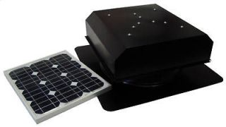 Solar Powered Attic Fan, AB 252D Attic Breeze, 25 Watt