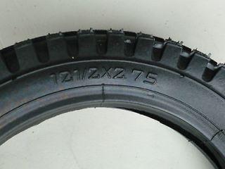 Razor Scooter Electric Dirt Bike Knobby Tire 12 1/2 x 2.75 w/Staight