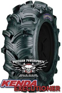 27 Kenda Executioner ATV Mud Tires For 12 Wheels