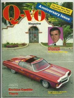 VO LOWRIDING MAGAZINE VOL 2 #1 RARE LOWRIDER 1980 (VF) CHICANO CAR