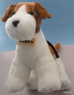 Lovely Toy Network Plush FOX TERRIER PUP Dog BUDDY 14