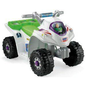 Newly listed Fisher Price ATV Ride On Electric Quad Disney Toy Story 3