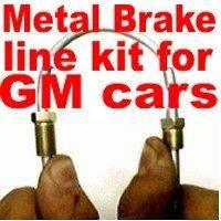 Brake line kit Caprice, Malibu, Chevelle 1968 1969 1970 1975 1976 1977