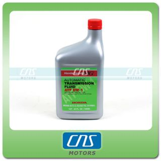 Honda OEM Automatic Transmission Fluid 1 Quart ATF DW 1 Factory Sealed