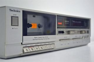 Technics Stereo Cassette Deck Tape Player Recorder RS B14