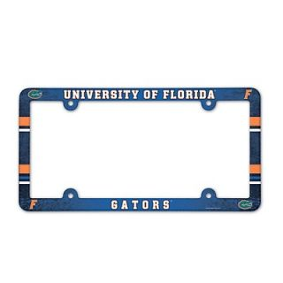GATORS Logo NCAA Color Plastic Car Truck License Plate Frame NEW