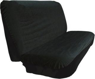 ALL TERRAIN BLACK BENCH SEAT COVER TRUCKS SUVs AUTOS