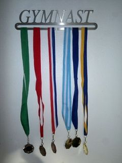 GYMNAST awards medal display hanger Athlete run dance cycle achiever