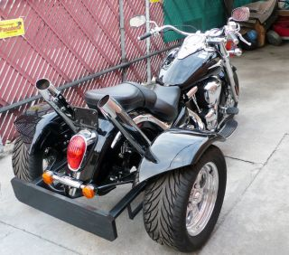 Motorcycle Trike Rear End Assembly