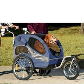 Solvit HoundAbout Large Bicycle Trailer Pet Stroller Kit