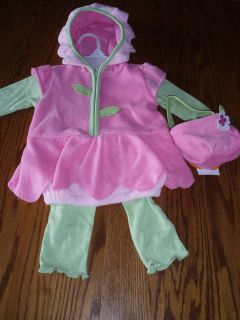 BABY GRAND Girls 6 9 Month Flower Halloween Costume NWT Dress Up