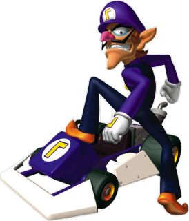 015 SUPER MARIO WALUIGI KART 7 WALL MURAL SET STICKER MARIO KART7