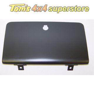 11228.01 Glove Box Door, Black, Jeep CJ5, CJ6, CJ7, CJ8 1955 1986