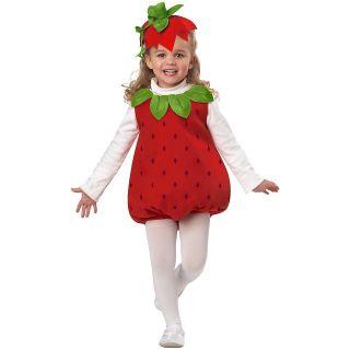 Strawberry Girl Toddler Baby Infant Girls Cutie Halloween Costume