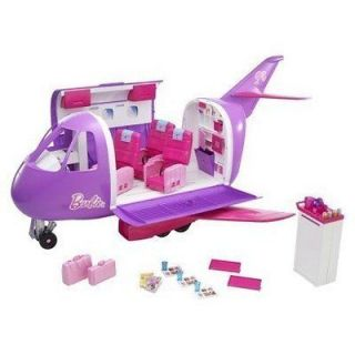 BARBIE DOLL Glamour Jet PURPLE PLANE Glam Vacation Girl aeroplane 30