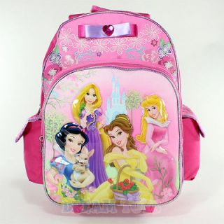 The Princess 16 Roller Backpack   Rolling Girls Bag Wheeled Princess