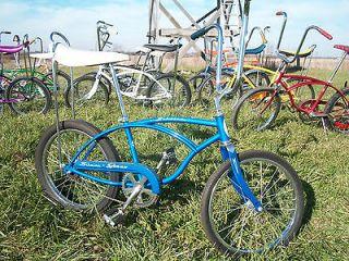 Vintage Schwinn Stingray Muscle Bike Bicycle Banana Seat