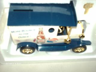 Vintage Collectible Delivery Truck/Bank (New, w/key included