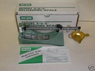 Rcbs Ohaus Model 304 Reloading Scale