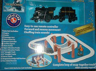 Express Lionel Little Lines Battery Powered Kids Train Set 5 Cars 44pc
