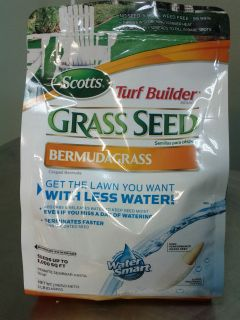 Scotts Turf Builder Bermuda Grass Seed 1 Lbs Coverage 1000 sq ft