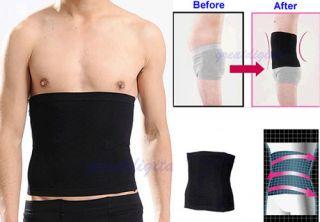 Slimming Lift Body Shaper Tummy Belt Underwear Waist Support Black